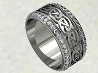 ring kelt keltic 3d model