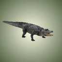 3ds max american alligator