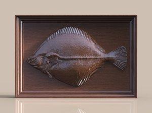 maya flatfish fish