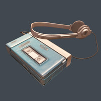 3d model sony walkman guardians galaxy