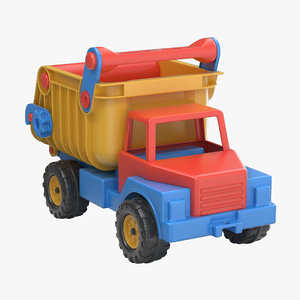 3d model toy truck