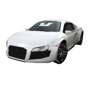 3ds r8 car sport