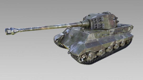3d 2 tiger model