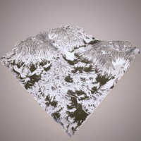 terrain 3d obj