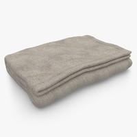 Blanket Fold Beige