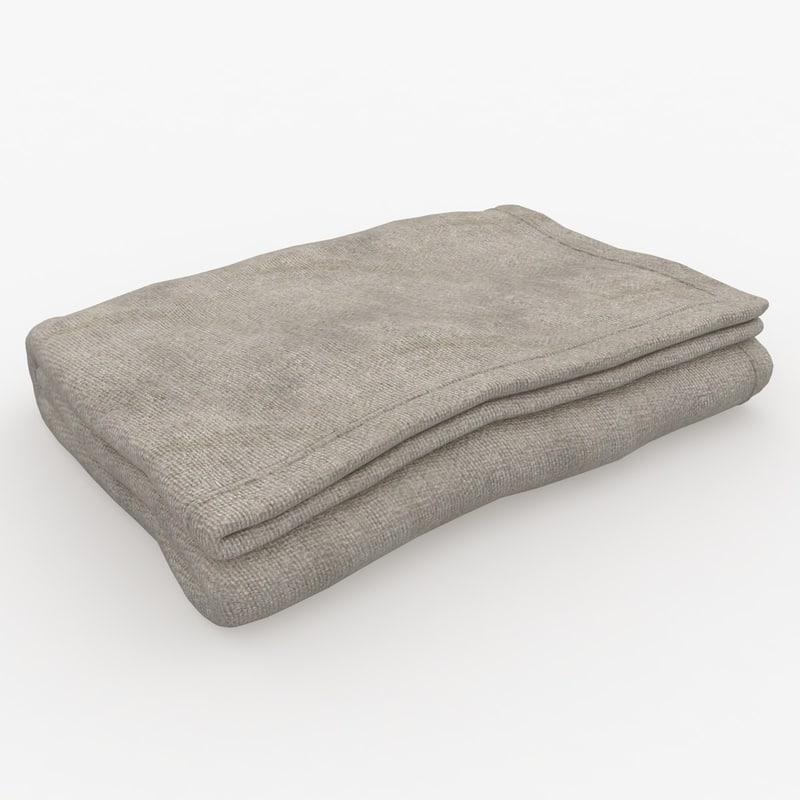 max blanket fold beige