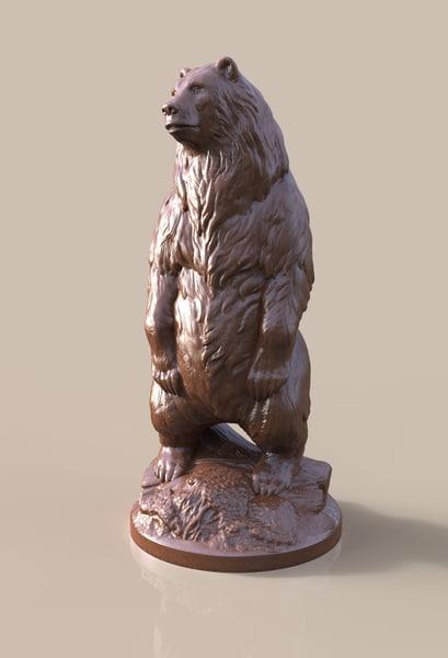 3d bear model