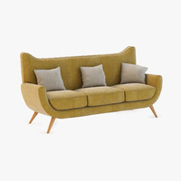 Salon Ambassador Couch By Jean Royere