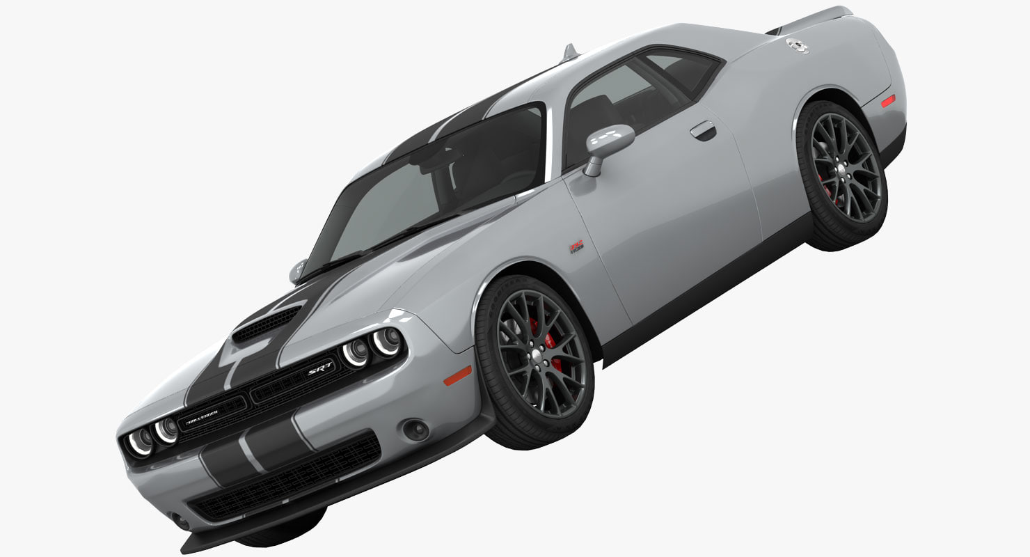 3ds max dodge challenger srt 392