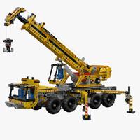 Lego Mobile Crane 8053