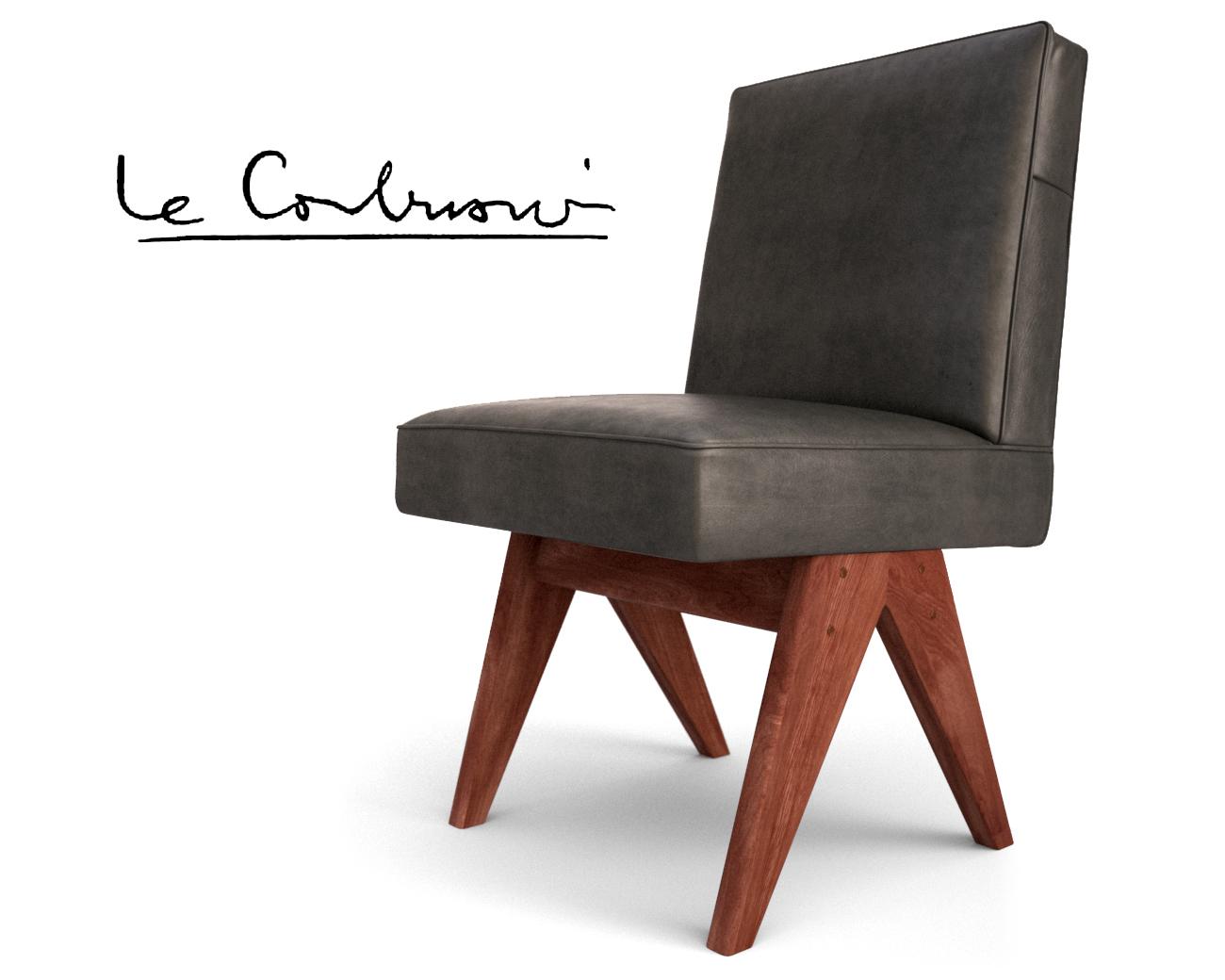 Le Corbusier, Pierre Jeanneret - Sedia da pranzo