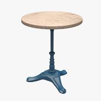 3d table bsm model