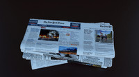 3ds max newspaper news paper