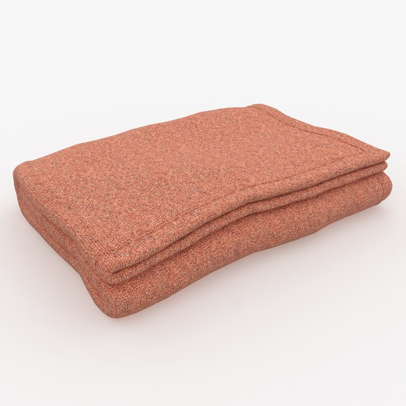 blanket fold red max