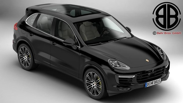 porsche cayenne turbo s 3ds