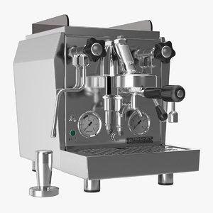 realistic espresso maker rocket 3d max