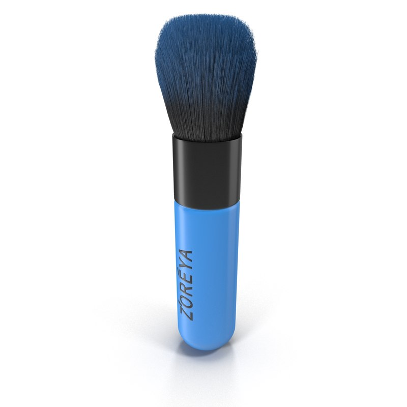 brush makeup 3d max
