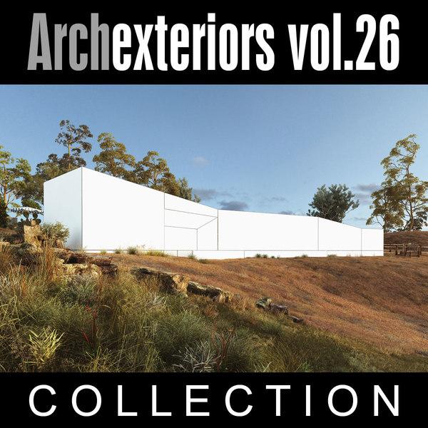 architectural exteriors 3d model