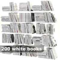 white books set