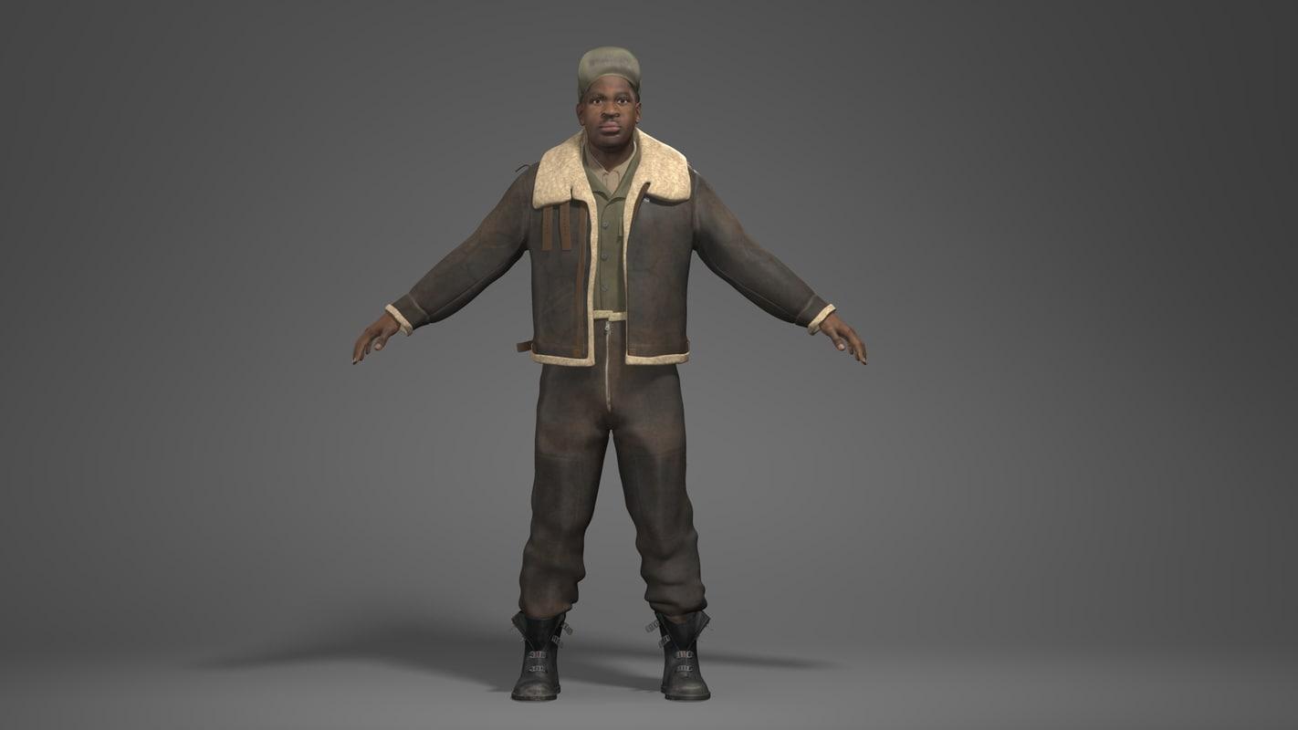 man character obj