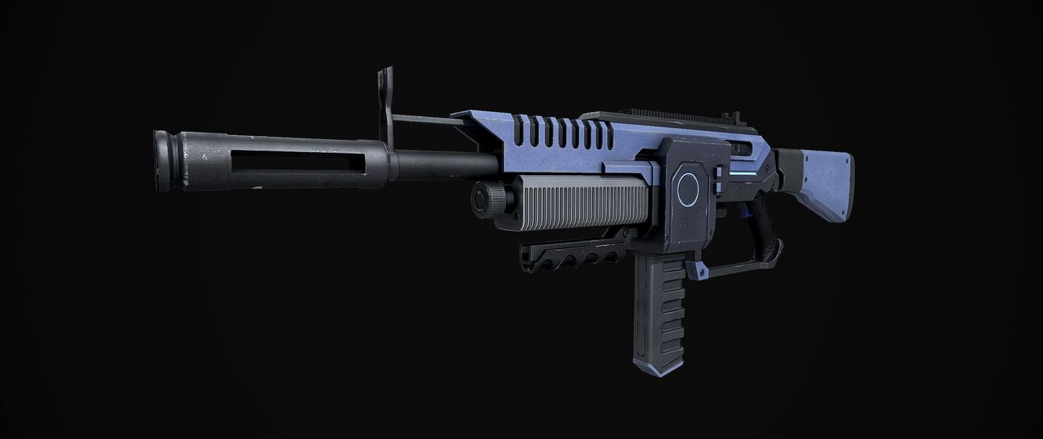 sci-fi weapon max