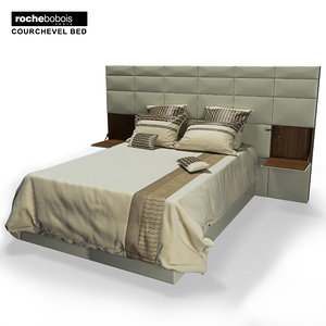 3d courchevel bed roche model