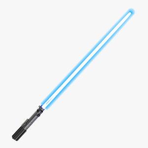 star wars luke skywalker 3d max