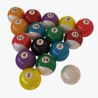 obj pool balls