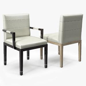 valentino armchair chair 3d max