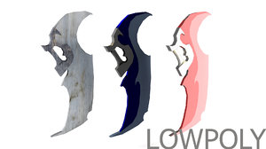 3dsmax swords set