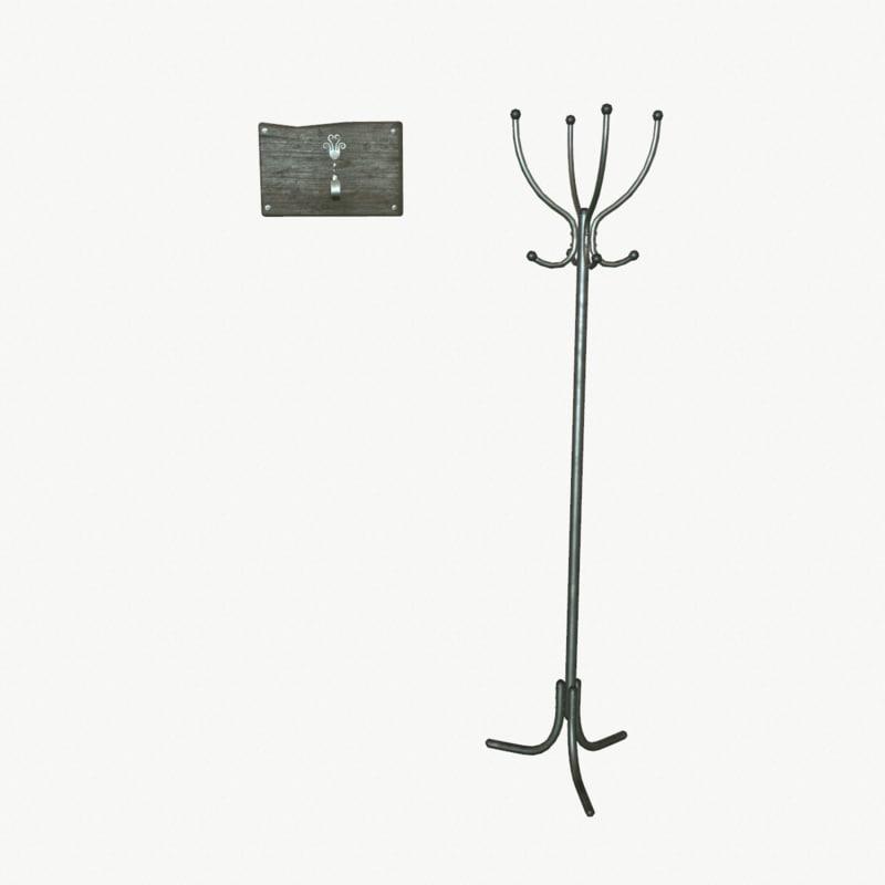 3d model hanger