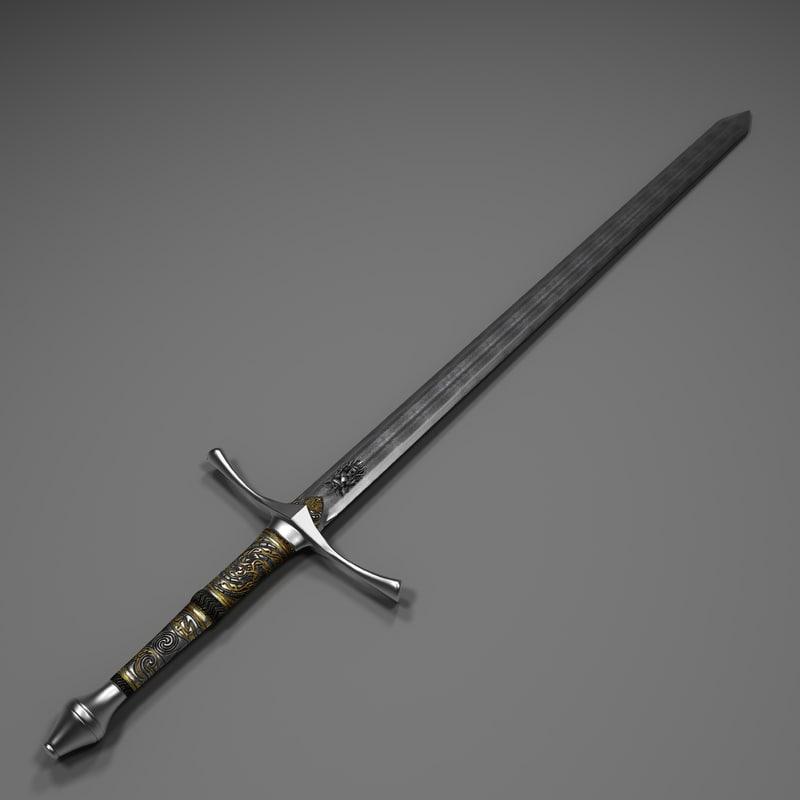 sword obj free