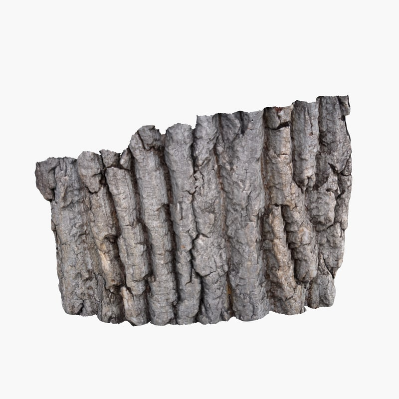 3ds bark 3 - oak
