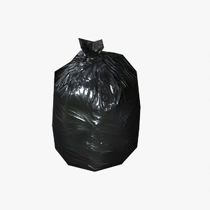 3d ready garbage bags model