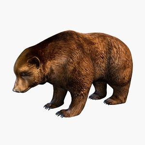 3ds max bear