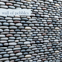 3d model of wall pebbles