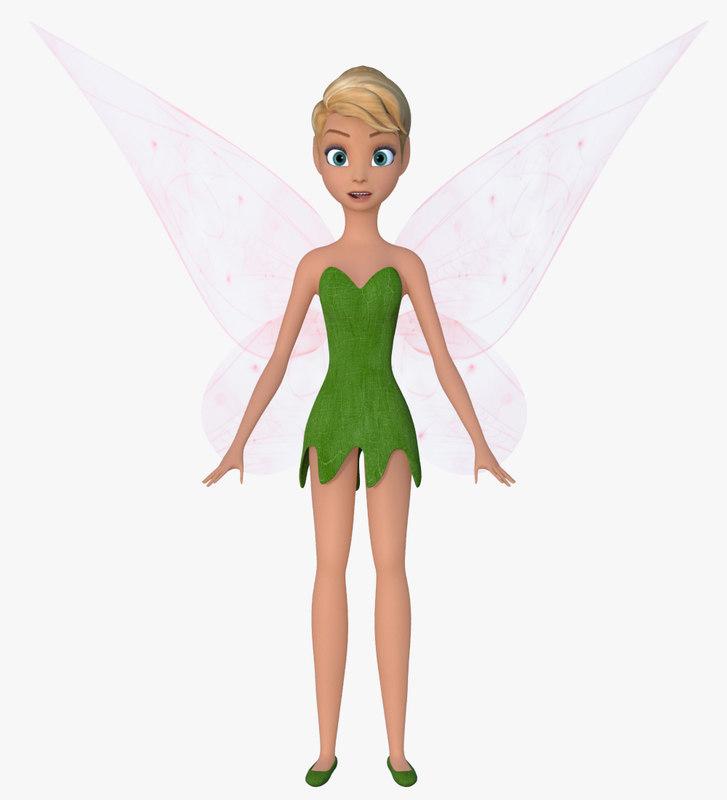 fairy faces 3d model