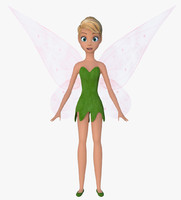fairy faces 3d model