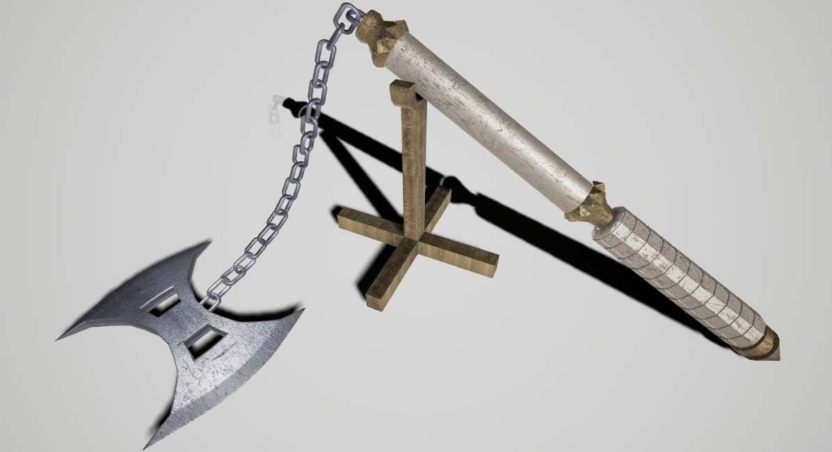 3ds max axe05