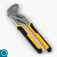 water pump pliers 3d max