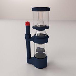 protein skimmer 3d model