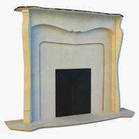 fireplace obj