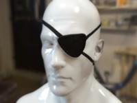 Realistic Eyepatch OBJ+ZTL