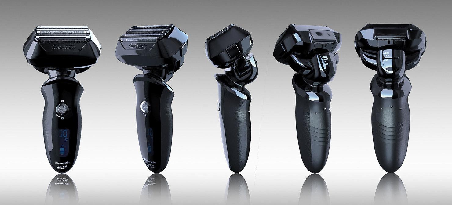 3d shaver panasonic model