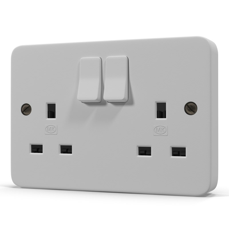 3ds max uk electrical outlet