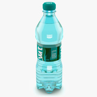 3d model of bottle water