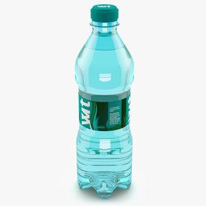 3d model of bottle water