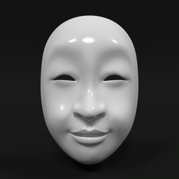 3d 3ds asian mask