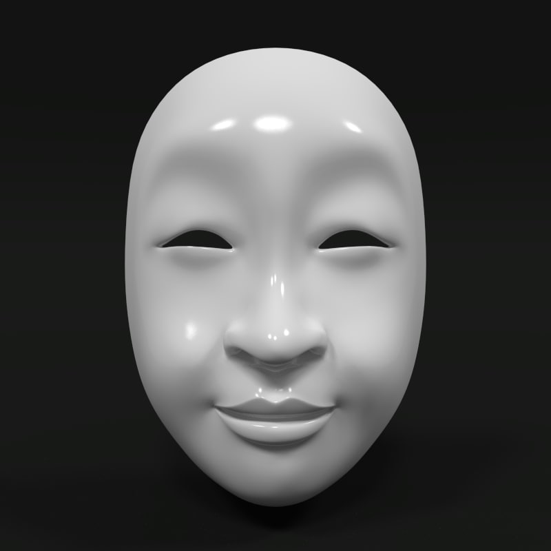 3d 3ds asian mask