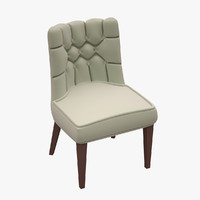 chair hancerli 3d obj